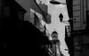 Afternoon walk, medina Tanger (magat129245) Tags: leicapolskafilm tanger morocco leica m3 neopan acros100 fujifilm rodinal epson v600 contrast architecture building church blackandwhite bw sky medina urban street shootfilm analog filmisnotdead