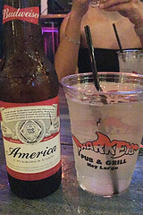 Key Largo (amm6587) Tags: iphone florida floridakeys flkeys keylargo largo beer budweiser