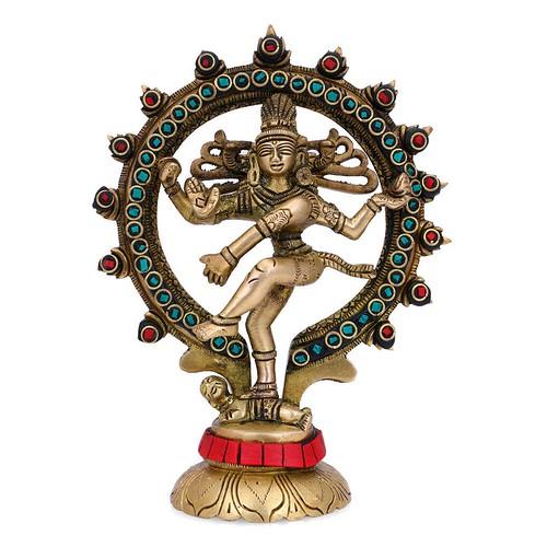Unique Nataraja Brass Statue