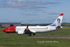 B737 MAX8 EI-FYG NORWEGIAN (shanairpic) Tags: jetairliner passengerjet b737 boeing737 max8 shannon irish norwegian eifyg
