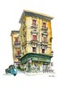 Palermo shopfront (wanstrow) Tags: palermo sicilia blocco shop drawing green architecture