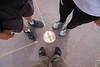 Six Feet, Four Corners (W9JIM) Tags: teecnospos utah unitedstates us w9jim shoes fourcorners 5d4 24105l 24mm ef24105mmf4lisusm canoneos5dmarkiv birkenstocks toesocks