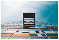 Oben (dirkbreisch) Tags: spiegelungen architektur dirkbreischphotography einfachnurgut mediahafen sonya7ii spring düsseldorf düsseöldorf