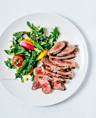 Steak (ctotir) Tags: steak salad food foodphotography foodanddrink meal