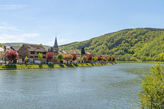 Montherme village on river Meuse (George Pachantouris) Tags: ardennes france belgium forest river maas meuse