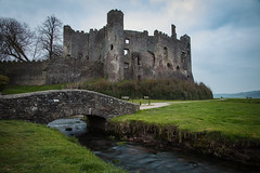 Laugharne Castle at Dusk (David Wagstaffe) Tags: laugharne westwales castle longexposure wales