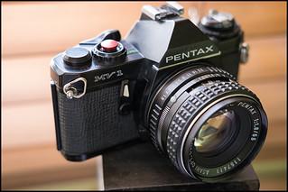 Pentax MV-1 with SMC Pentax