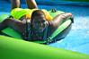A wide smile on the way down (radargeek) Tags: 2016 slidethecity oklahomacity waterslide splash kids child kid july okc water slide