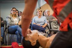 Prevenció de l'infart en les dones (Ajuntament del Prat) Tags: elpratdellobregat elprat salutpúblicaiconsum cardioprotecció cor prevencióinfartdones