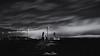 Hume Weir Wall 2 (Struan Timms Photography) Tags: struantimmsphotography sunset longexposure albury humeweir beautifullight nikon nikcollection nikond750 silverefex juneephotographer landscape