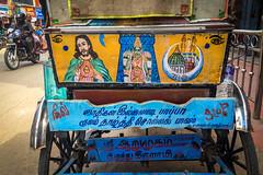 Madurai   Tamil Nadu (chamorojas) Tags: chamorojas albertorojas india iphone5s madurai tamilnadu autorickshaw design religion ganesha
