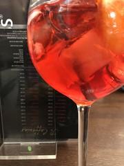 Campari Spritz (Hayashina) Tags: camparispritz red drink glass monza italy
