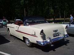 RT-75-61 Chevrolet Bel Air V8 1955 Ford M Club meeting Beekbergen (willemalink) Tags: rt7561 chevrolet bel air v8 1955 ford m club meeting beekbergen