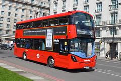 LK67 EMV (VWH2395) Metroline London (hotspur_star) Tags: londontransport londonbuses londonbus londonbuses2018 wrightbus volvob5lh tfl transportforlondon hybridbus hybridtechnology busscene2018 doubledeck metrolinelondon lk67emv vwh2395 98