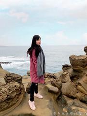 跟著克萊兒玩基隆網美景點 (Co_Claire) Tags: 基隆 基隆旅遊 遊記 基隆遊記 象鼻岩 酋長岩 潮境公園 飛天掃把 好時光餐廳 台灣旅遊