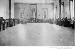 Study Hall , convent of the sacred heart school at kenwood  1890 (albany group archive) Tags: old albany ny vintage photo photograph picture history historic historical academy school
