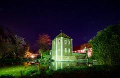 Wasserschloss Wilkinghege (p.niebergall) Tags: wasserschloss wilkinghege münster night nacht sterne himmel wasser