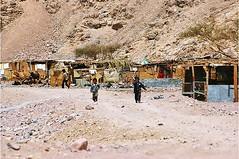 Bedouin village in the Sinai (stevelamb007) Tags: egypt sinai nomads bedouins stevelamb nikon d70s children village noweba