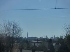 Birmingham skyline from Handsworth (ell brown) Tags: birmingham westmidlands england unitedkingdom greatbritain chaseline tree trees westmidlandsrailway westmidlandstrains class170 soholoopline skyline birminghamskyline handsworth handsworthwood winsongreen bttower bttowerbirmingham crane cranes train