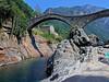 Lavertezzo bridge (Vid Pogacnik) Tags: switzerland ticino verzasca lavertezzo bridge pontedeisalti doublearchbridge camelbridge river