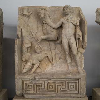 Aphrodisias' Sebasteion, The Royal Hero