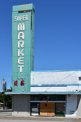 Dick's Supermarket, San Jose (Ian E. Abbott) Tags: dickssupermarket dickyee sanjose bayarea supermarket grocerystore mid20thcentury midcentury 1020north4thstreet north4thstreet outofbusiness sorrywereclosed signofthetimes