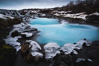 Icy Bruarfoss