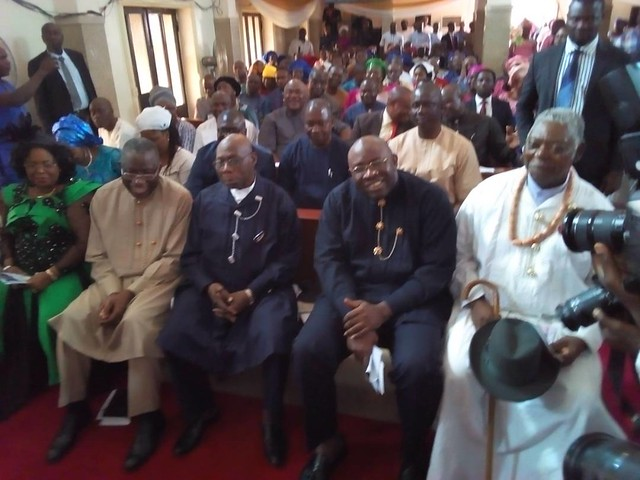 HSDickson - OBJ attends thanksgiving service at Otuoke with GEJ, marking Restoration @ 6 18th Feb 2018