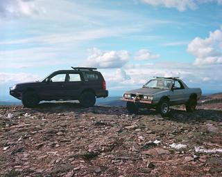 Subarus on the tundra