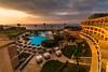 Kolymbia Sunrise - Rhodes (E_W_Photo) Tags: kolymbia rhodes dodecanese greece holiday balconyview sunrise pool sea hotel beach canon 80d sigma 1020mm kolympia