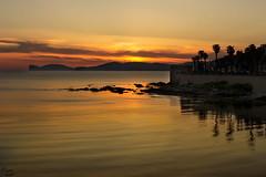 Alghero (Mauro Nuvoli) Tags: alghero sardegna italy sunset seascape sea colorful lightning