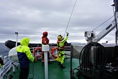 Svalbard Sysselmannen rescue helicopter training (Chickenhawk72) Tags: sysselmannen rescue helicopter training langøysund crew superpuma winch diver doctor deck boat hover survival suit svalbard norway sar spitsbergen isfjorden arctic exercise surprise cruise