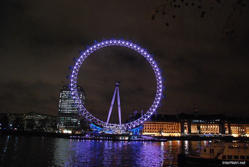 Око Лондона вночі InterNetri United Kingdom 0440