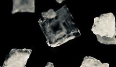 Salt super macro (Charlotte P.Denoel) Tags: abstract abstrait contraste contrast nourriture aliment condiment food micro detail closeup grosplan noiretblanc macro sel salt