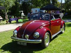 Volkswagen Kever Cabriolet (peterolthof) Tags: peterolthof klazienaveen oldtimerdag 652018 ae5529