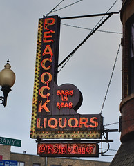 Proud (I. M. Pist) Tags: illinois chicago liquor store alcohol beer neon sign old decayed urban
