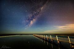 Starstuff (Crouchy69) Tags: astrophotography astronomy milky way stars night sky narrabeen pool sydney australia long exposure