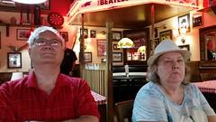 Linda and Chuck (Adventurer Dustin Holmes) Tags: mom chuck family 2018 lindaross charlesross chuckross people couple manandwoman fuddruckers
