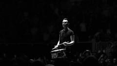 Drummer Boy Mullen (rossgperry) Tags: larrymullen u2 sundaybloodysunday u2eitour experienceinnocencetour sapcenter sanjose drummer clarkkentmullenjr bw blackwhite dof blackandwhite 2018