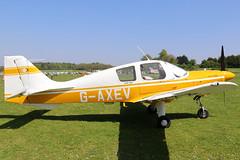 G-AXEV_02 (GH@BHD) Tags: gaxev beagleb121pup150 beagle b121 pup bulldog pophammicrolighttradefair2018 pophamairfield popham aviation aircraft