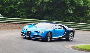 Bugatti Chiron, Prescott Hill Climb