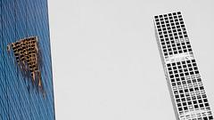 NY prime time .. vinte e três! (m_laRs_k) Tags: usa manhattan olympus prime 45mm skyscraper 7dwf architexture 纽约 reflection chromecameraprofile omd