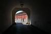 Kastellet, Copenhagen, Denmark (Thierry Hoppe) Tags: kastellet copenhagen denmark fortress entrance military historic christian iv bastion rampart rows red