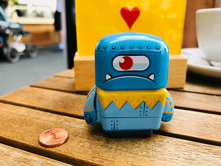 Grumpy Robot, lucky you! You found a one cent.