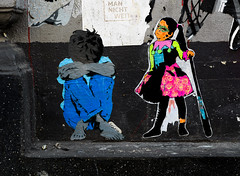 HH-Wheatpaste 3725 (cmdpirx) Tags: hamburg germany reclaim your city urban street art streetart artist kuenstler graffiti aerosol spray can paint piece painting drawing colour color farbe spraydose dose marker stift kreide chalk stencil schablone wall wand nikon d7100 paper pappe paste up pastup pastie wheatepaste wheatpaste pasted glue kleister kleber cement cutout