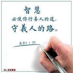 圣经金句-智慧-智慧金句 (追逐晨星) Tags: 智慧 善人 义人