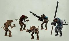 Skaven master race (Nightmaresquid) Tags: skaven lego ldd render fantasy warhammer ratmen gaming toys military rat