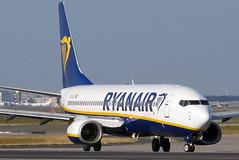 Ryanair -  Boeing  Boeing 737-8AS(WL), EI-DLV (Bernd 2011) Tags: ryanair boeing 7378aswl 737 738 7378as fra eddf eidlv taxiing frankfurtairport canon powershot sx50hs