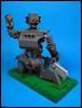 A Droid's Dream (Karf Oohlu) Tags: lego moc droid robot globe gun weapon posing alaspooryorick machinegun ammo