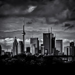 Toronto Skyline From The Pape Ave Bridge No 2 thumbnail